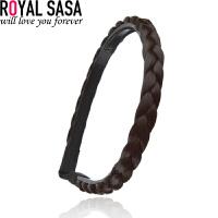 皇家莎莎Royalsasa韩国流行编织麻花辫子假发发箍宽发卡发带发饰