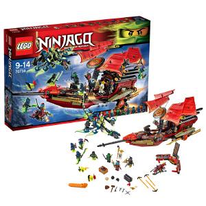 [当当自营]LEGO 乐高 NINJAGO幻影忍者系列 命运赏赐号终极大决战 积木拼插儿童益智玩具 70738