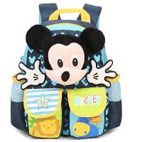 迪士尼 米奇幼儿园书包男女儿童卡通多口袋宝宝双肩背包 SM80876