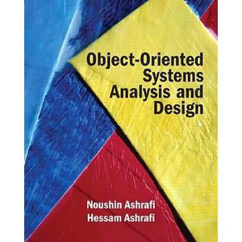 【预订】object oriented systems analysis and design图片