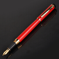 毕加索PS-908亮红铱金笔钢笔当当自营
