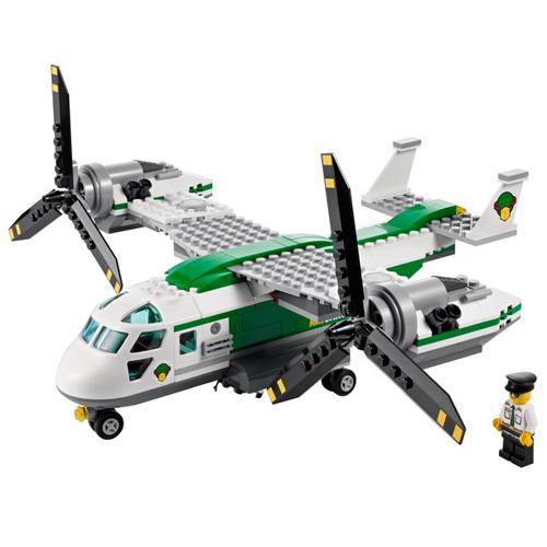 lego 乐高 city城市系列 货运直升机 积木拼插儿童益智玩具 60021
