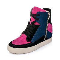 Teenmix/天美意专柜同款二层牛皮/羊皮女靴6C661DZ5