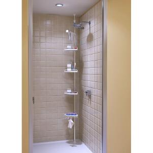 [当当自营]慧乐家 衣锦可调节浴室角架22121 置物架