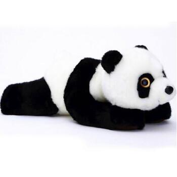 可爱大眼睛熊猫公仔