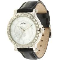 聚利时Julius 韩国时尚复古表 时装表 鳄鱼皮纹 水钻表 女士手表JA-486