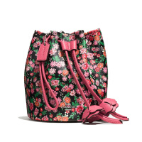 【当当自营】蔻驰(COACH)时尚魅力女士拉绳水桶包单肩斜挎女包  F57604