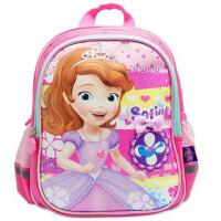 迪士尼 苏菲亚公主卡通幼儿园大班书包女童宝宝双肩背包SS80063