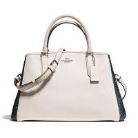 【当当自营】蔻驰(COACH)时尚商务女士刷涂层帆布戴妃包手提包斜挎女包 F59442