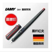 德国LAMY 凌美 JOY 015喜悦 美术钢笔 黑红杆  F笔尖