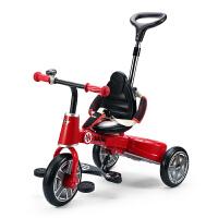 星辉 宝马mini10寸儿童三轮车可折叠多功能自行车宝宝手推脚踏车 3003