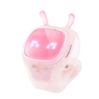 糖猫(Teemo)―搜狗儿童对讲定位智能手表(语音对讲,位置定位,体感游戏) 一年**版 布丁粉
