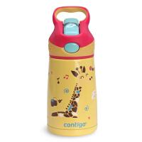 美国contigo康迪克儿童保温杯不锈钢吸管杯便携水壶男女宝宝水杯