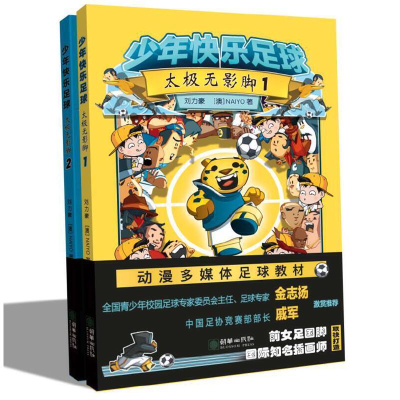 少年快乐足球:太极无影脚(套装全2册)