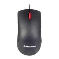 联想(lenovo) 有线鼠标 M120 大红点 有线光学鼠标