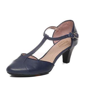 Bata/拔佳春季专柜同款牛皮女凉鞋(超软)AD301AK6