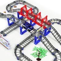 新干线多层电动 轨道车 托马斯式轨道火车玩具电动车儿童玩具