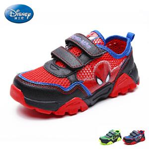 迪士尼童鞋2017夏季新款中小童跑步鞋男女童网布鞋学生鞋户外运动鞋 DS2271