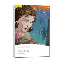 原版英文Project Omega 欧米茄计划(书+MP3)(培生英语分级阅读第二级)