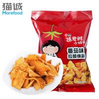 台湾进口 维力张君雅小妹妹系列 番茄味拉面条饼65g 方便面进口特产零食品