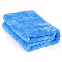 【支持礼品卡支付】佳百丽 洗车毛巾 汽车加厚细纤维擦车巾布 不掉毛车用吸水毛巾用品 双面长绒