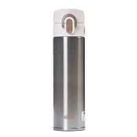 [当当自营]THERMOS膳魔师 400ml不锈钢色真空断热不锈钢保温杯 JNI-400-SL