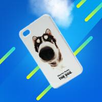 正品 可爱狗狗壳The dog猫猫壳 保护壳 外壳 iPhone 4 4S手机壳