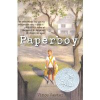 Paperboy [Hardcover]送报男孩(2014年纽伯瑞银将小说,精装)ISBN9780385742443