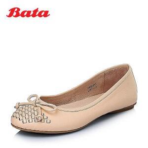 Bata/拔佳春季牛皮女休闲鞋54603AQ6