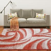 享家手工剪花缇香魅影系列现代简约客家居客厅卧室地毯133*190�M 地毯地垫沙发茶几毯