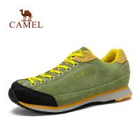 camel骆驼户外徒步鞋 秋冬新品男款防滑减震透气低帮徒步鞋