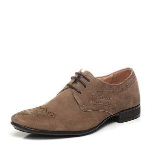 BATA/拔佳夏季专柜同款羊绒皮男单鞋(防静电)83E01BM6