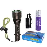 SupFire神火 X5强光手10瓦电筒充电 骑行/家用 户外防身远射