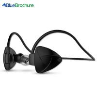 【当当特惠】BlueBrochure 蓝牙耳机 SH03D 手机耳机 迷你 音乐 运动 智能耳机 一拖二 立体声音乐 听歌 蓝牙CSR4.0 中文语音播放 苹果iPhone6s Plus 5s 5c iPhone4S 三星 小米 红米 华为 魅族 耳机耳麦 安卓苹果通用