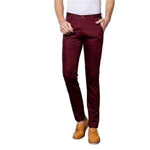 【两条99元】男士小直筒修身休闲裤