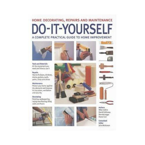 【预订】do-it-yourself: home decorating, repairs and