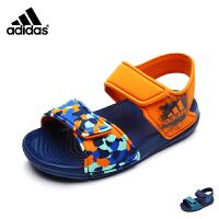 阿迪达斯adidas童鞋时尚迷彩婴幼童凉鞋轻盈宝宝学步鞋小宝宝凉鞋 BA7851