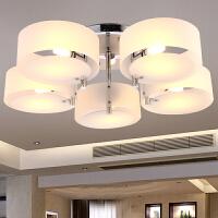 祺家现代简约艺术LED吸顶灯水晶灯客厅灯卧室灯餐厅灯饰灯具IX24