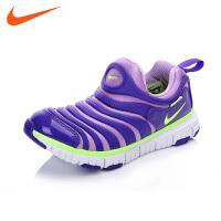 NIKE/耐克童鞋春季新款耐克毛毛虫童鞋儿童运动鞋男女桶跑步鞋NIKE DYNAMO FREE(PS) 343738 504