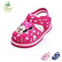 迪士尼童鞋婴童学步鞋2017春季新款儿童休闲走路鞋男童女童宝宝鞋
