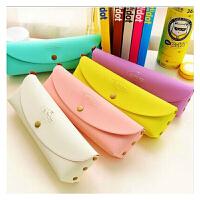 YL835 韩国PVC盒装可爱时尚创意简约马卡龙糖果色笔袋