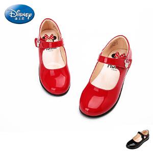 迪士尼新品大童女童鞋防滑公主鞋时尚单鞋亲子鞋浅口鞋秋DS1937