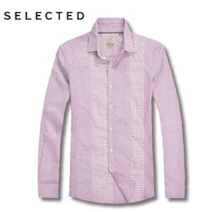 思莱德春季男士纯棉亲肤修身百搭免烫长袖衬衫2-2-10-413105018091