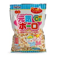 日本零食品 前田高钙健康小馒头 奶香饼干 70g 7个月+ 宝宝零食