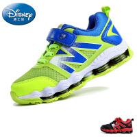 迪士尼童鞋新品透气网布儿童运动鞋防滑耐磨弹力鞋底男童鞋女童鞋