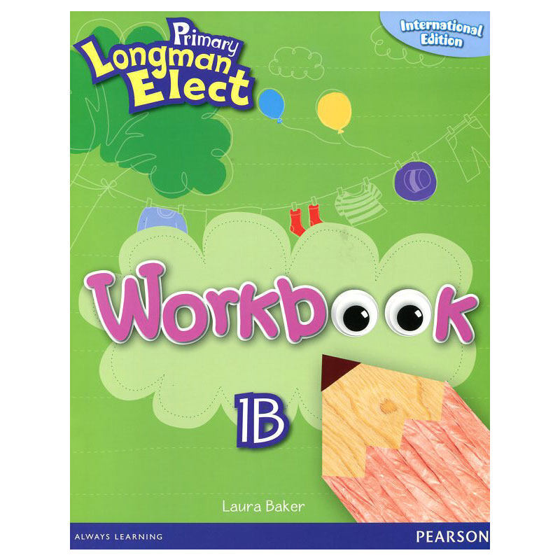 原版进口培生朗文小学6-12岁英语教材 primary longman elect 1b 学生