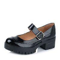 Teenmix/天美意专柜同款牛皮女单鞋6SR03CQ6