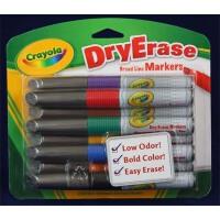 美国 [Crayola绘儿乐]8色易擦快干粗头白板笔 98-8628