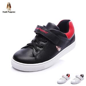 暇步士童鞋17年夏季滑板鞋新款中大童搭扣系带休闲鞋男女童学生鞋 DP9062