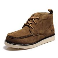 走索男鞋英伦工装鞋真皮鞋复古马丁靴高帮鞋子男士休闲板鞋棉鞋潮
